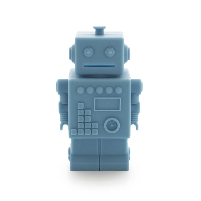 Robot Silicone Money Box by KG Design - Blue