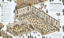 Castles Magnified: With a 3x Magnifying Glass - Children's Book