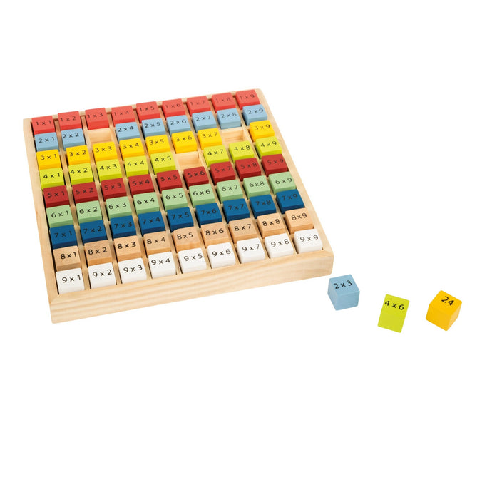 Legler Wooden Multiplication Table