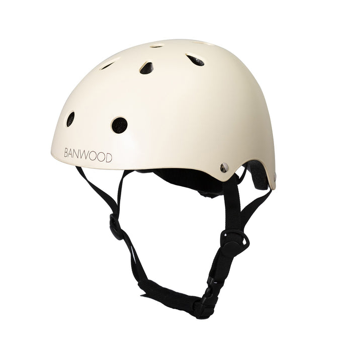Banwood Classic Junior Bike Helmet - Matte Cream