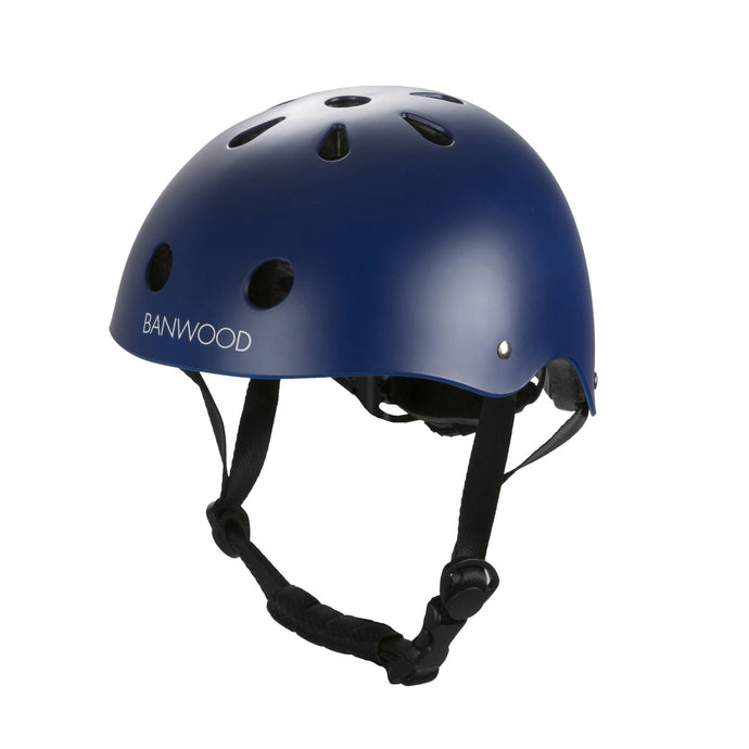 Banwood Classic Junior Bike Helmet - Matte Navy