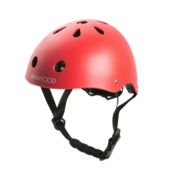 Banwood Classic Junior Bike Helmet - Matte Red