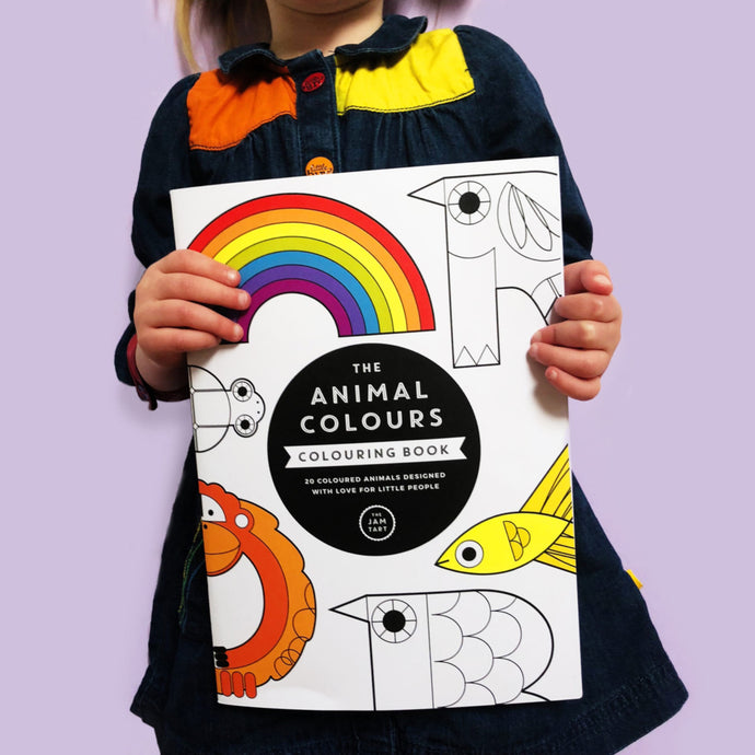 The Animal Colours Colouring Book by The Jam Tart