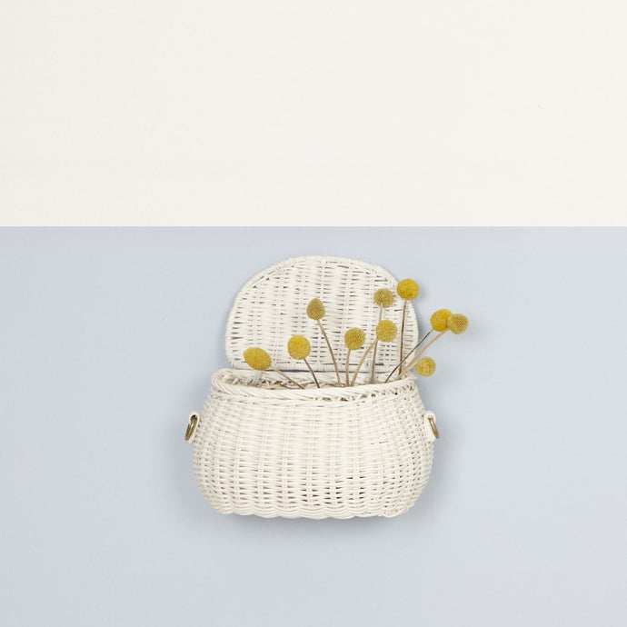 Olli Ella Mini Chari Bag - White