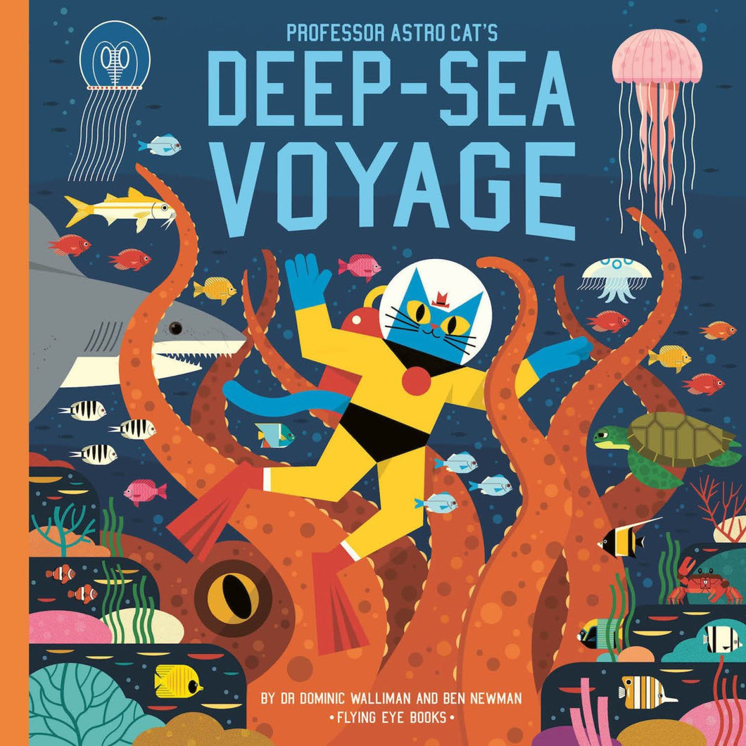 Professor Astro Cat's Deep Sea Voyage - Children's Hardback Book