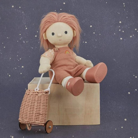 Olli Ella Doll Luggy - Rose