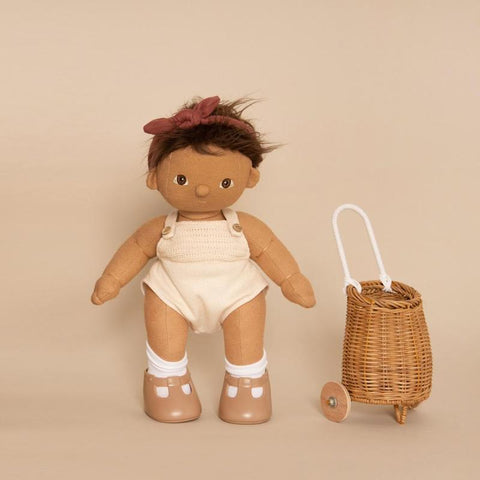 Olli Ella Doll Luggy - Natural