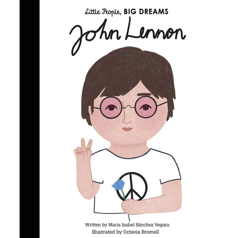 John Lennon (Little People, Big Dreams) - Children's Hardback Book