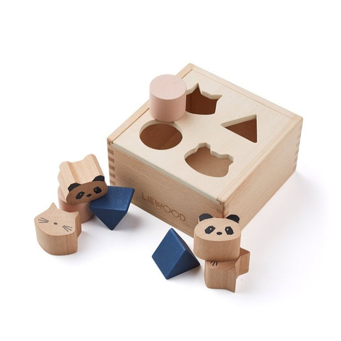 Liewood Mateo Wooden Box Puzzle