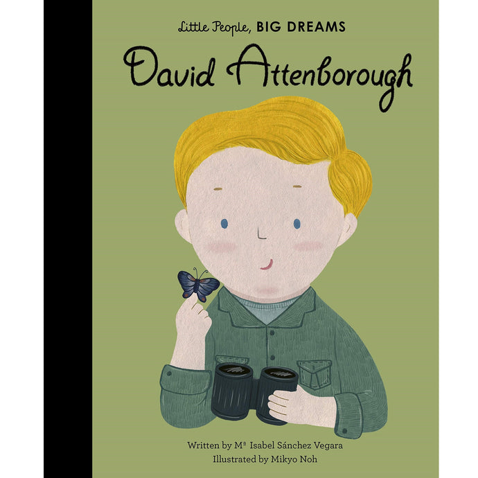 David Attenborough (Little People, Big Dreams) - Children's Hardback Book