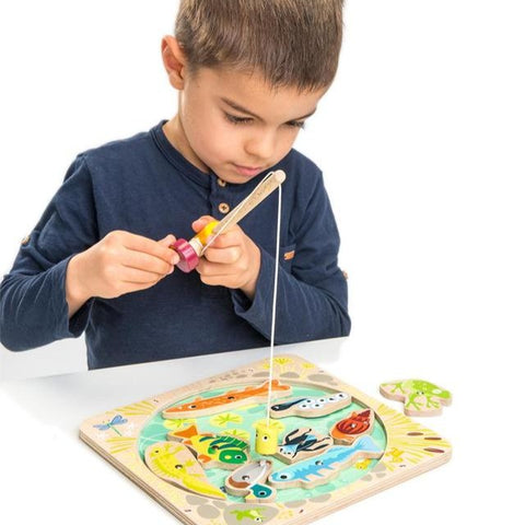 Tender Leaf Toys - Wooden Pond Dipping Toy
