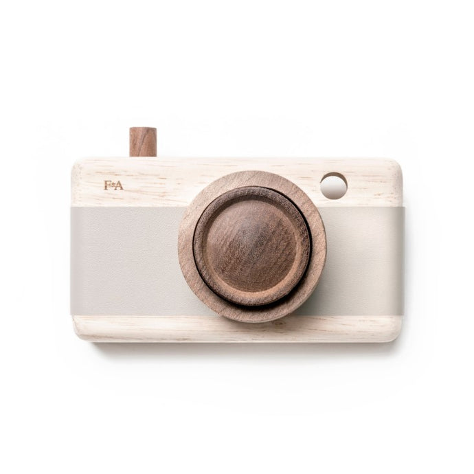 Wooden Camera In Grey Lilacs By Fanny & Alexander