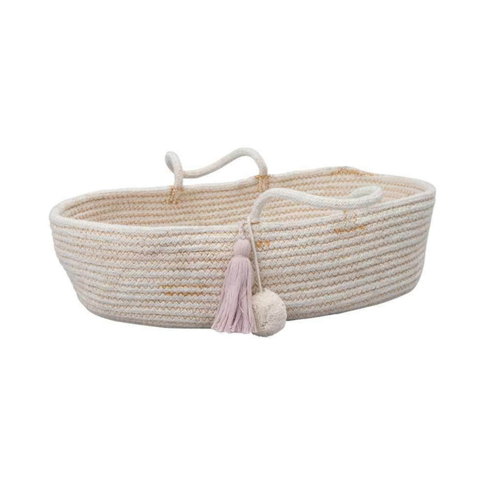 Fabelab Rope Doll Basket - Mauve