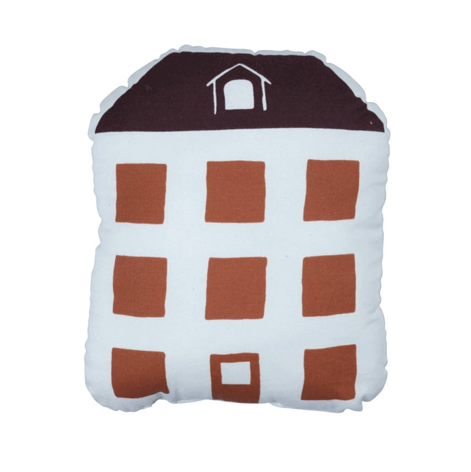 Fabelab Organic Red House Cushion