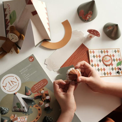 Fabelab Mini Makers Activity Booklet - Enchanted Forest