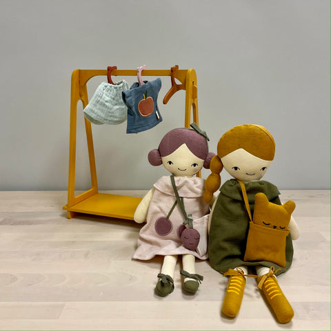 Fabelab Doll Clothes Rack