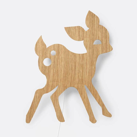 Ferm Living My Deer Lamp - Oiled Oak