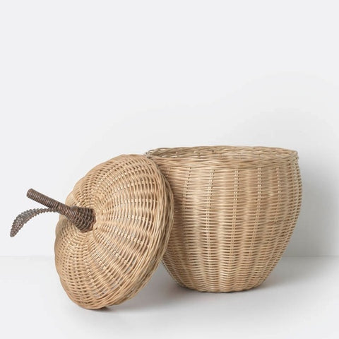 Ferm Living Large Apple Braided Storage Basket