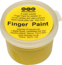 Newclay Kid's Finger Paint 100ml Pot - Yellow | Soren's House