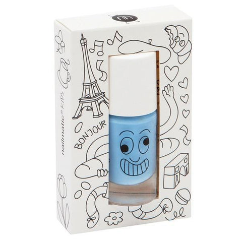 Nailmatic Wash Off Nail Varnish - Gaston (Blue)