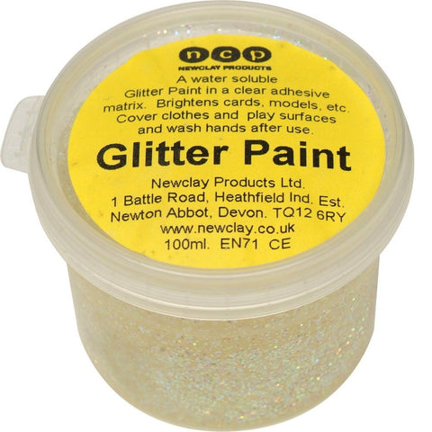 Newclay Glitter Paint 100ml Pot - Pearlescent | Soren's House