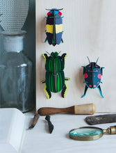 Studio Roof 3D Model Wall Decor - Scarab Beetle