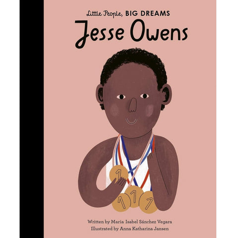 Jesse Owens (Little People, Big Dreams) - Children's Hardback Book