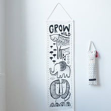 Wee Gallery Growth Chart - Safari | Soren's House