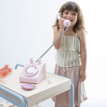 Kiko & GG Wooden Play Telephone - Pink