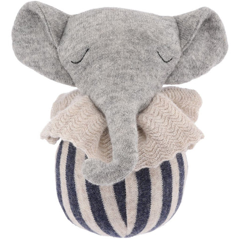 Konges Slojd Rolling Elephant Soft Toy | Soren's House