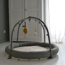 Konges Slojd Lelu Activity Rack - Ivy Green/Lemon