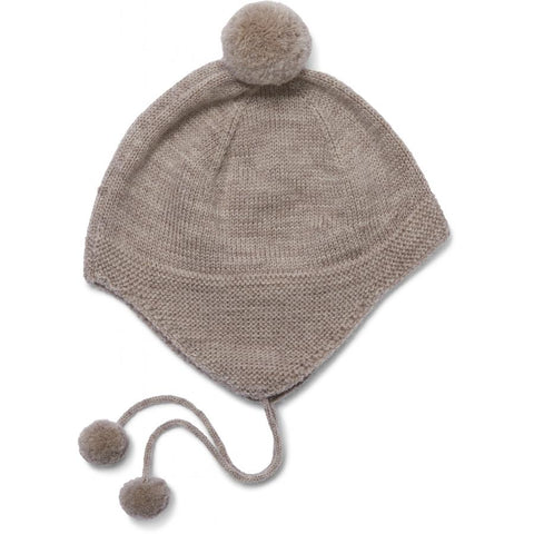 Konges Slojd Tomami Knit Hat - Paloma Brown