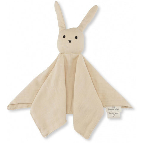 Konges Slojd Organic Sleepy Rabbit Comforter - Sand