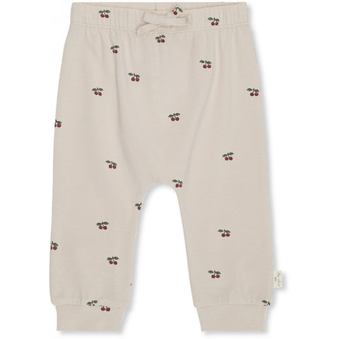 Konges Slojd Organic Deux Pants - Cherry Blush