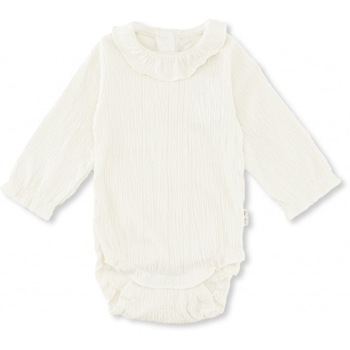 Konges Slojd Organic Chleo Body - Off White