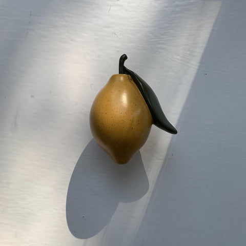 Konges Slojd Fruit Wall Hook - Lemon
