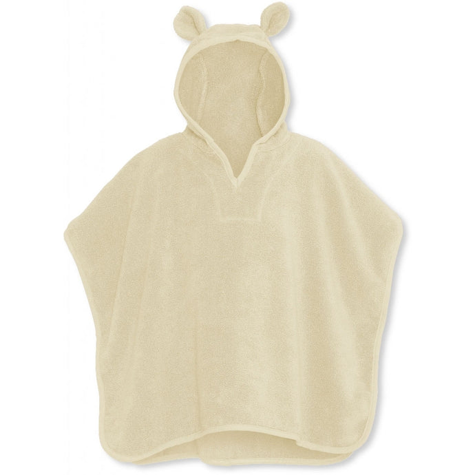 Konges Slojd Organic Terry Poncho - Off White