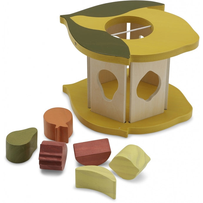 Konges Slojd Wooden Lemon Shape Sorter