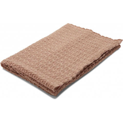 Konges Slojd Organic Merino Wool Baby Blanket - Rose Blush