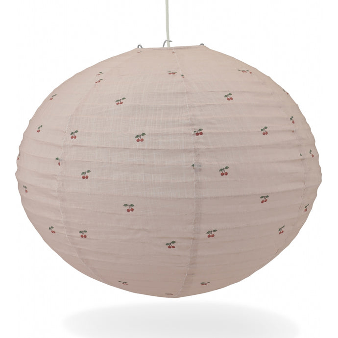 Konges Slojd Cotton Pendant Lamp Shade - Cherry