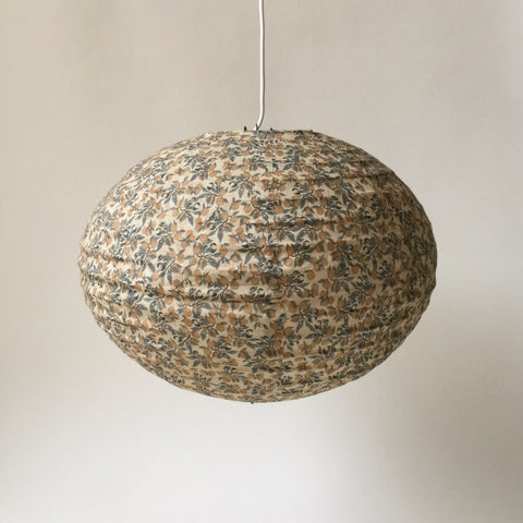 Konges Slojd Cotton Pendant Lamp Shade - Orangery Beige