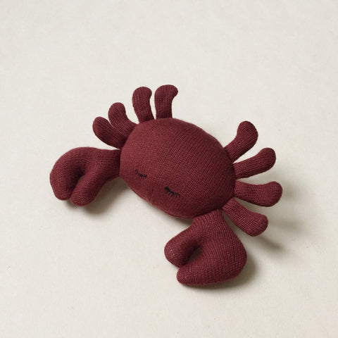 Konges Slojd Mini Crab Soft Toy