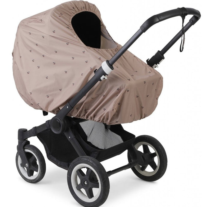 Konges Slojd Tuba Pram Cover - Cherry Blush