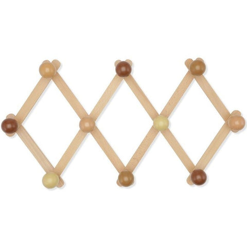 Konges Slojd Wooden Coat Rack - Rose