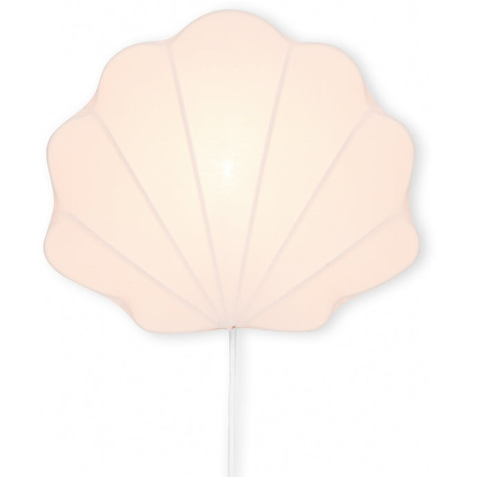 Konges Slojd Fabric Clam Lamp - Blush