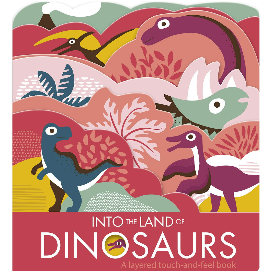 Into The Land Of Dinosaurs - Children's Board Book