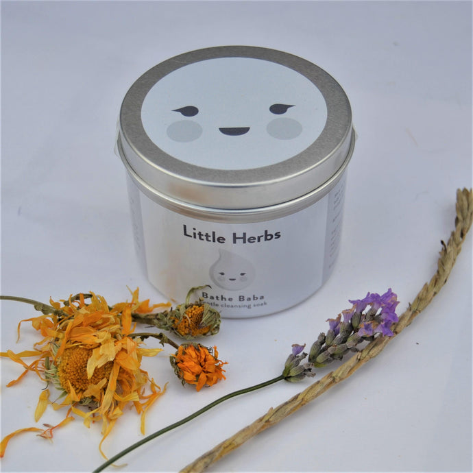 Little Herbs Bathe Baba - 160g Tin