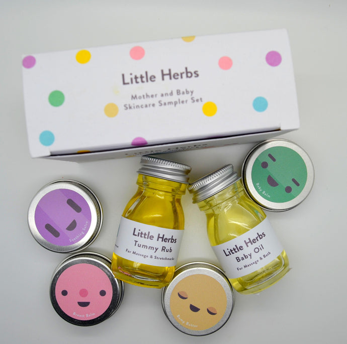 Little Herbs Skincare Sampler Gift Set