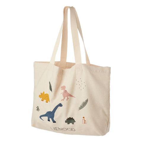 Liewood Tote Bag Large - Dino Mix