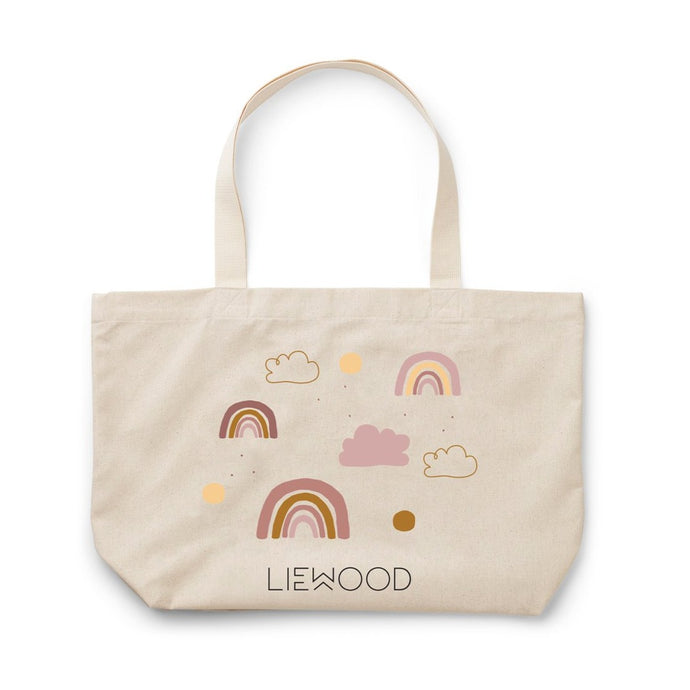 Liewood Tote Bag Large - Rainbow Love Sandy